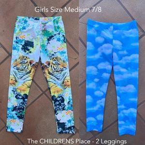 Children's Place Leggings Bundle Sz 7/8